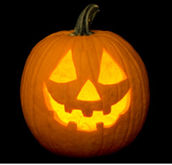 Jack-o-lantern for your home