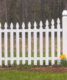 Your home and the white picket fence