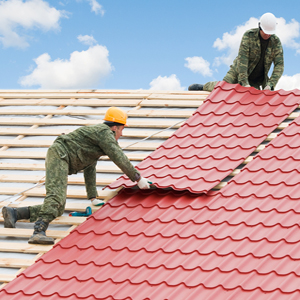 Color the roof of your home