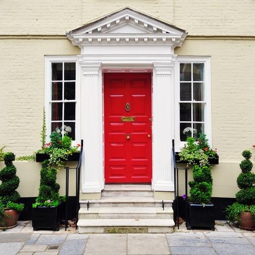 Choosing A Front Door Color Virtual Results
